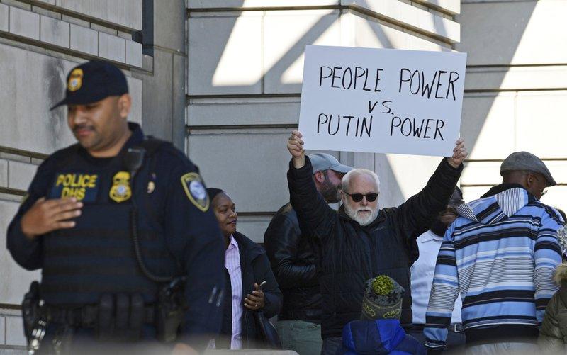 Michael Flynn protestor