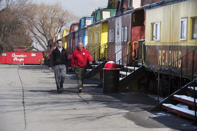 Caboose motel offers unusual Pennsylvania Dutch venue