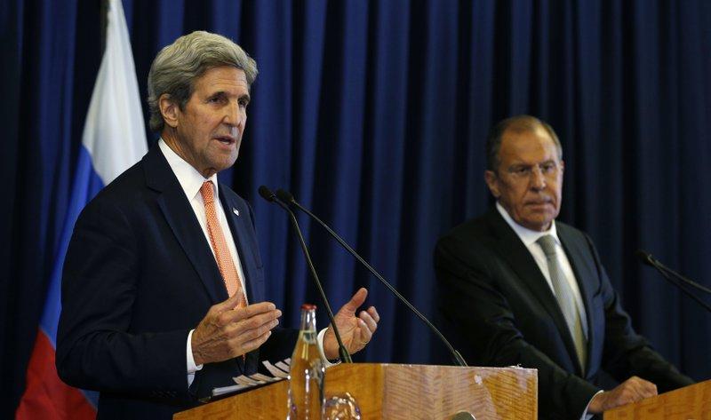 Sergey Lavrov, John Kerry