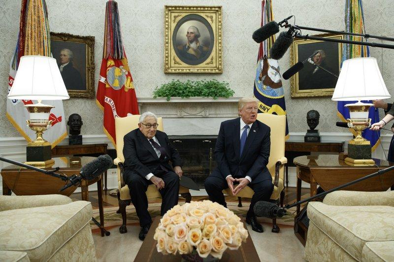 Donald Trump, Henry Kissinger