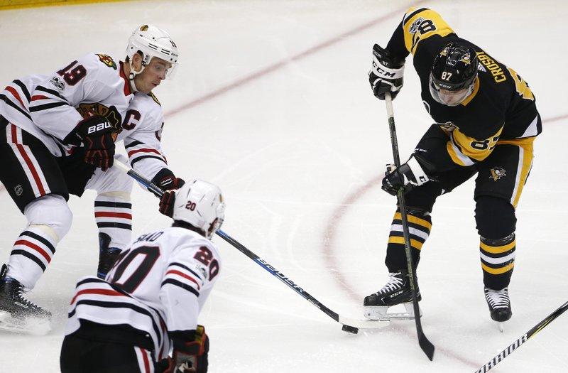 Jonathan Toews, Sidney Crosby