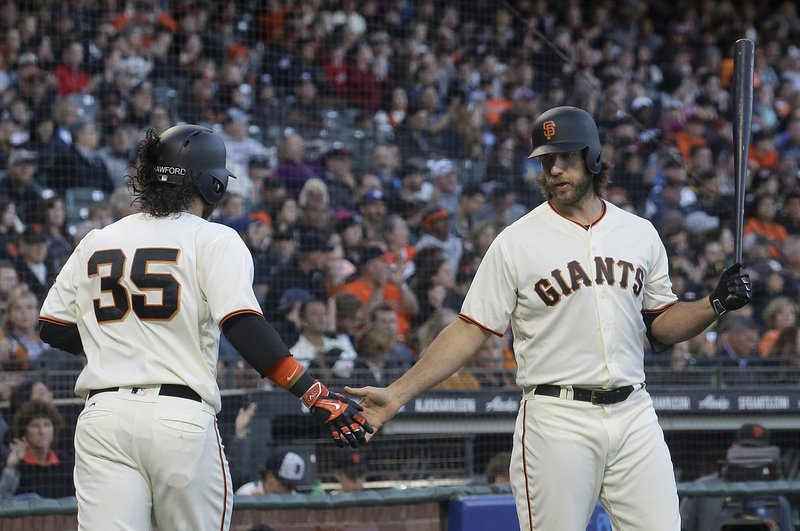 Brandon Crawford, Madison Bumgarner