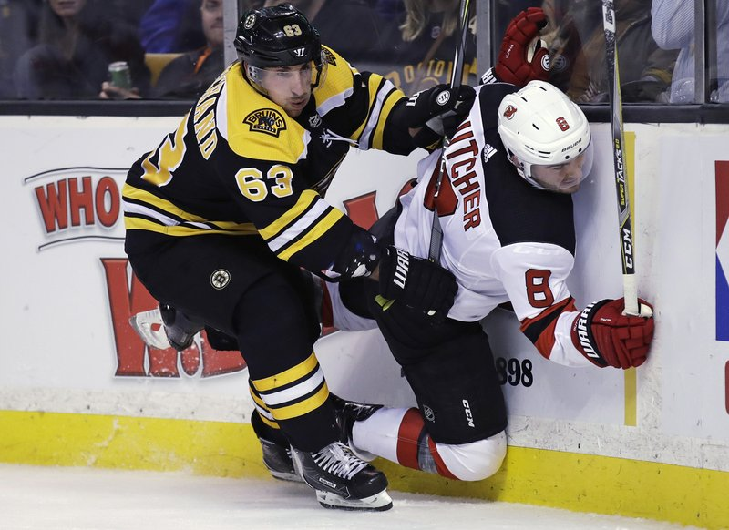 Brad Marchand, Will Butcher