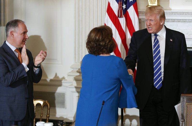 Donald Trump, Susana Martinez, Scott Pruitt