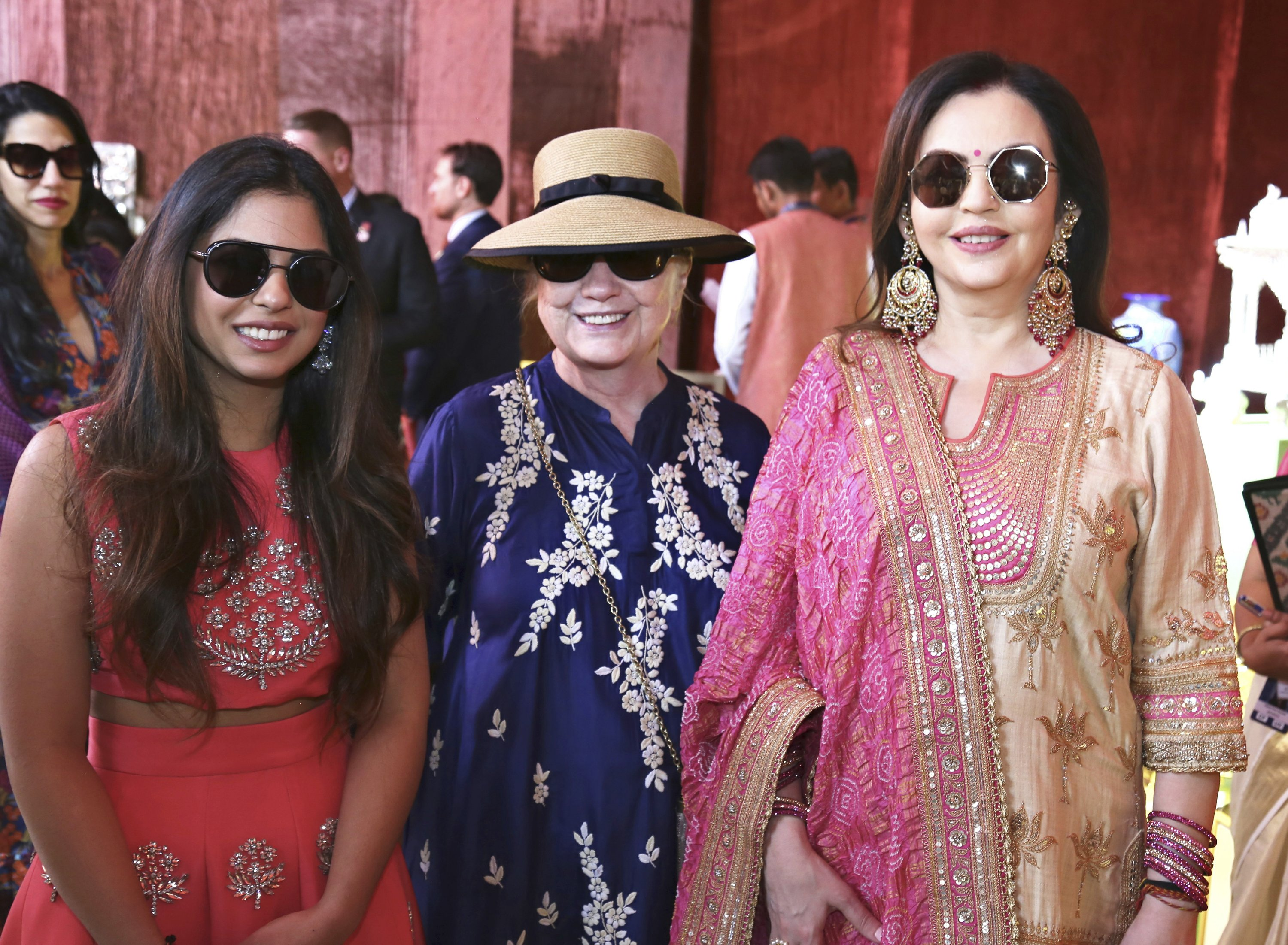 Beyonce! Hillary! Guests flood India for a very big wedding - The Associated Press