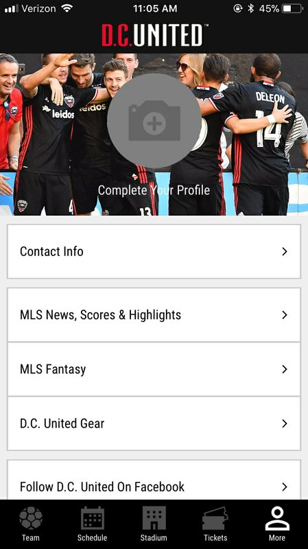 Major League Soccer Team D.C. United Announces New Audi Field Mobile App Experience for Guests Powered by VenueNext
