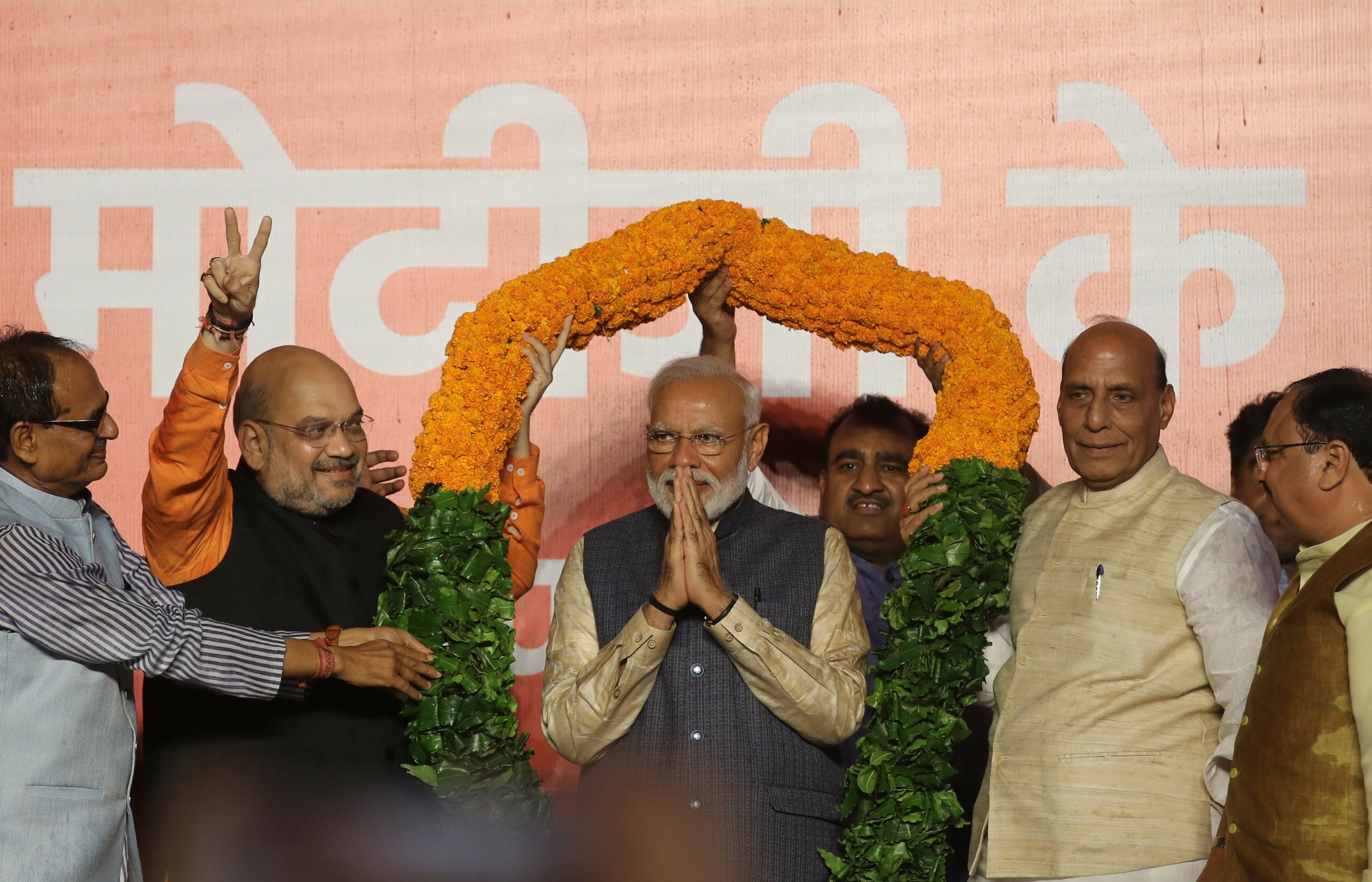Analysis: Economy, Hindu-first impact are Modi's challenges