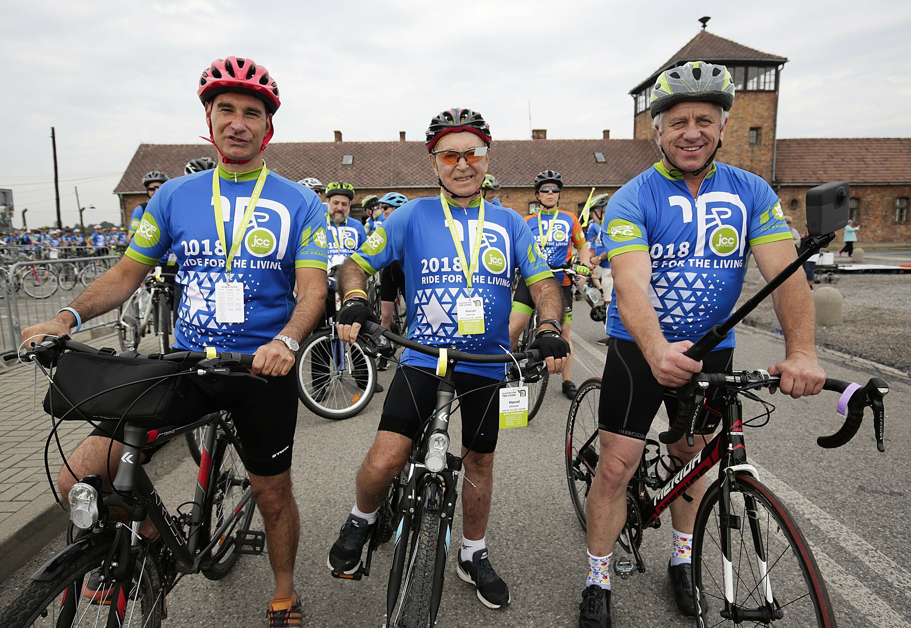 LeMond, Holocaust survivors ride to celebrate Jewish life