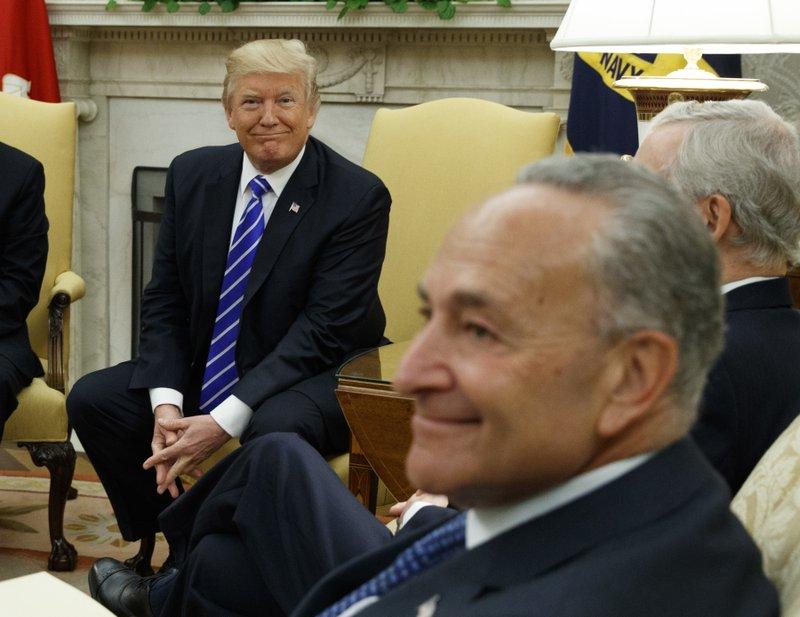 Donald Trump, Chuck Schumer
