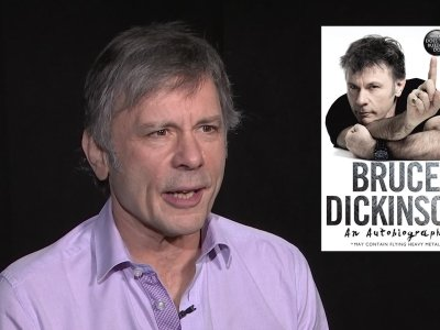 Iron Maiden frontman talks bullying in new autobiography