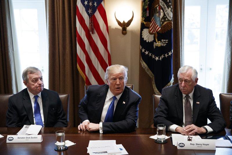 Donald Trump, Steny Hoyer, Dick Durbin
