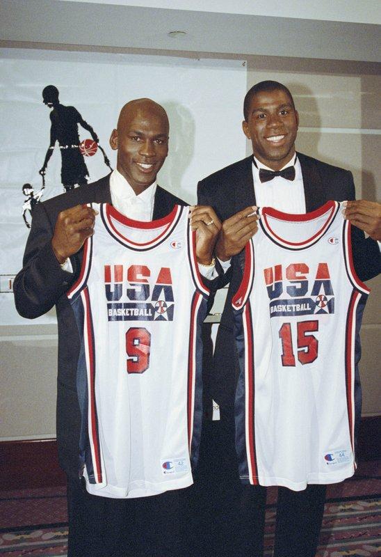 LeBron says he'd want Magic, Jordan as