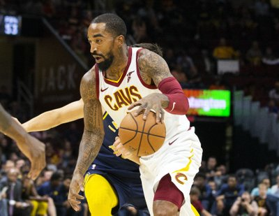 8e7d3bff9620 CLEVELAND (AP) — J.R. Smith has added another tier to the Cavaliers   mounting troubles.