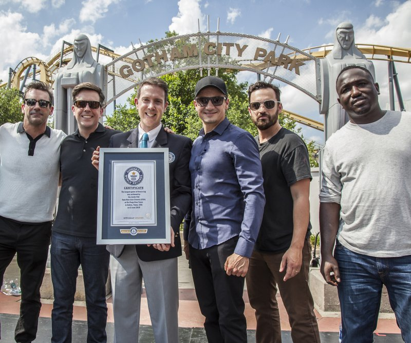 """""""Tag""""…We're All It! – Cast Members Rally Fans to Set a New Guinness World Records Title"""