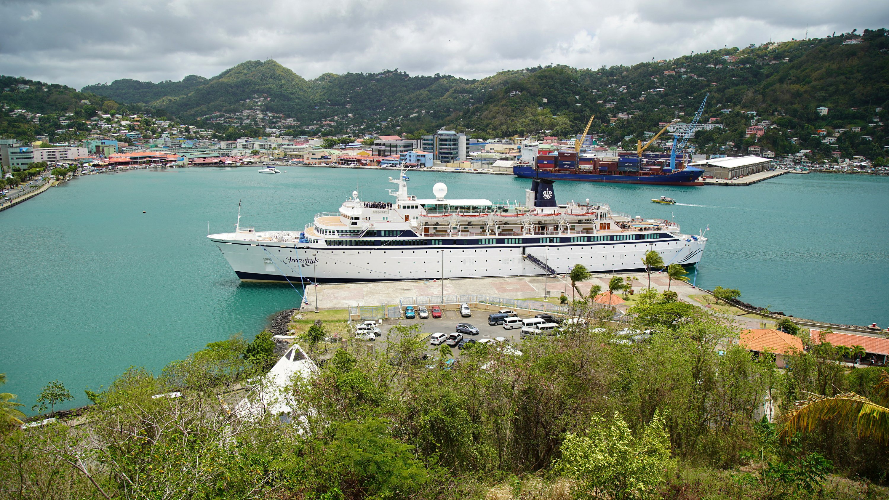 St. Lucia quarantines cruise ship after measles case
