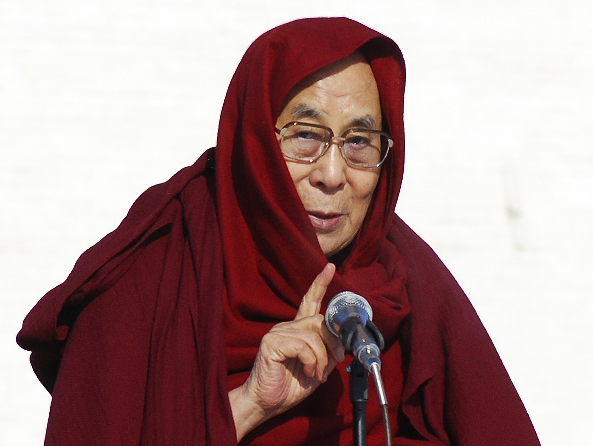 Dalai Lama: 'I have no worries' about Trump's election