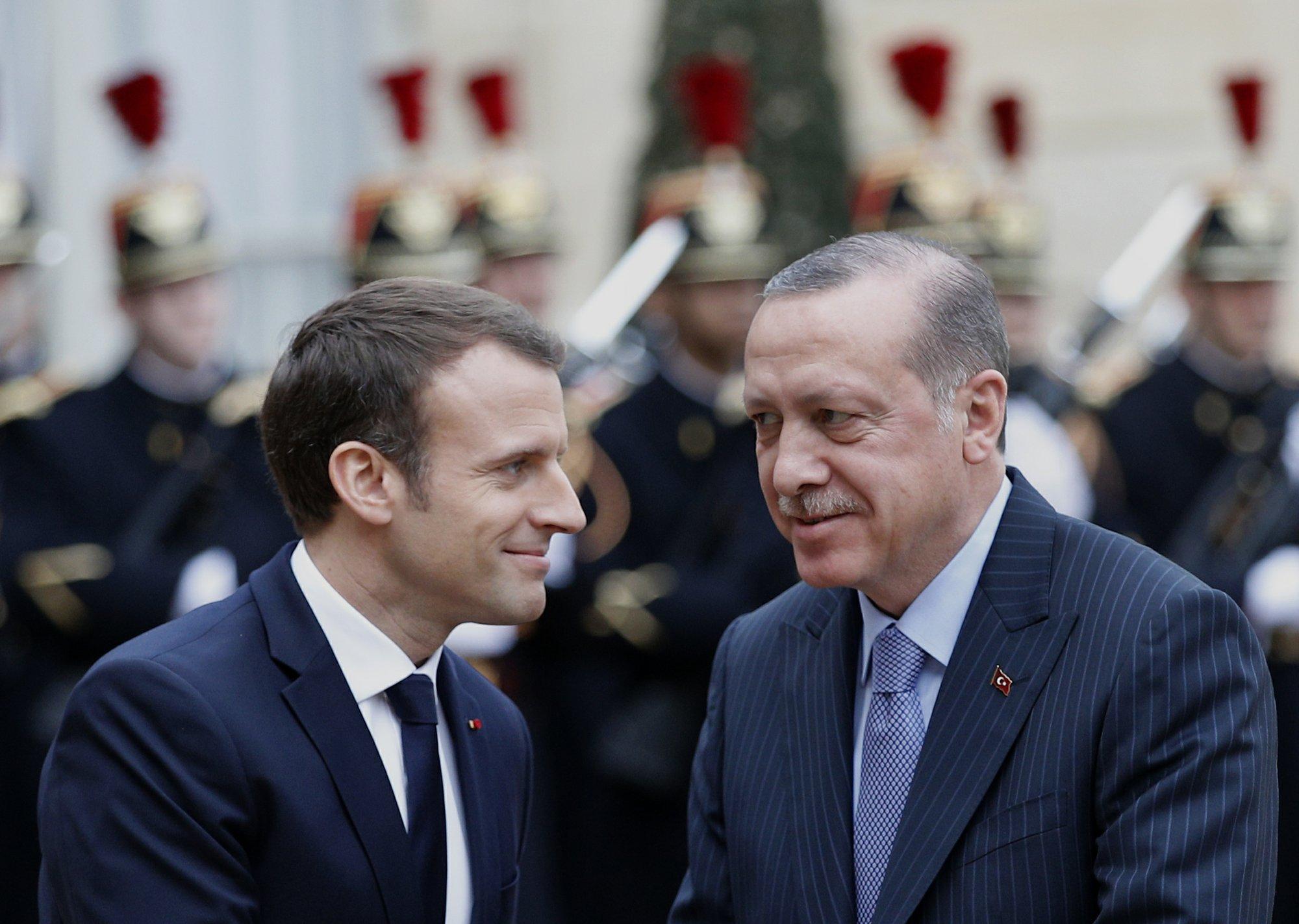 Frances Macron Suggests Eu Partnership With Turkey