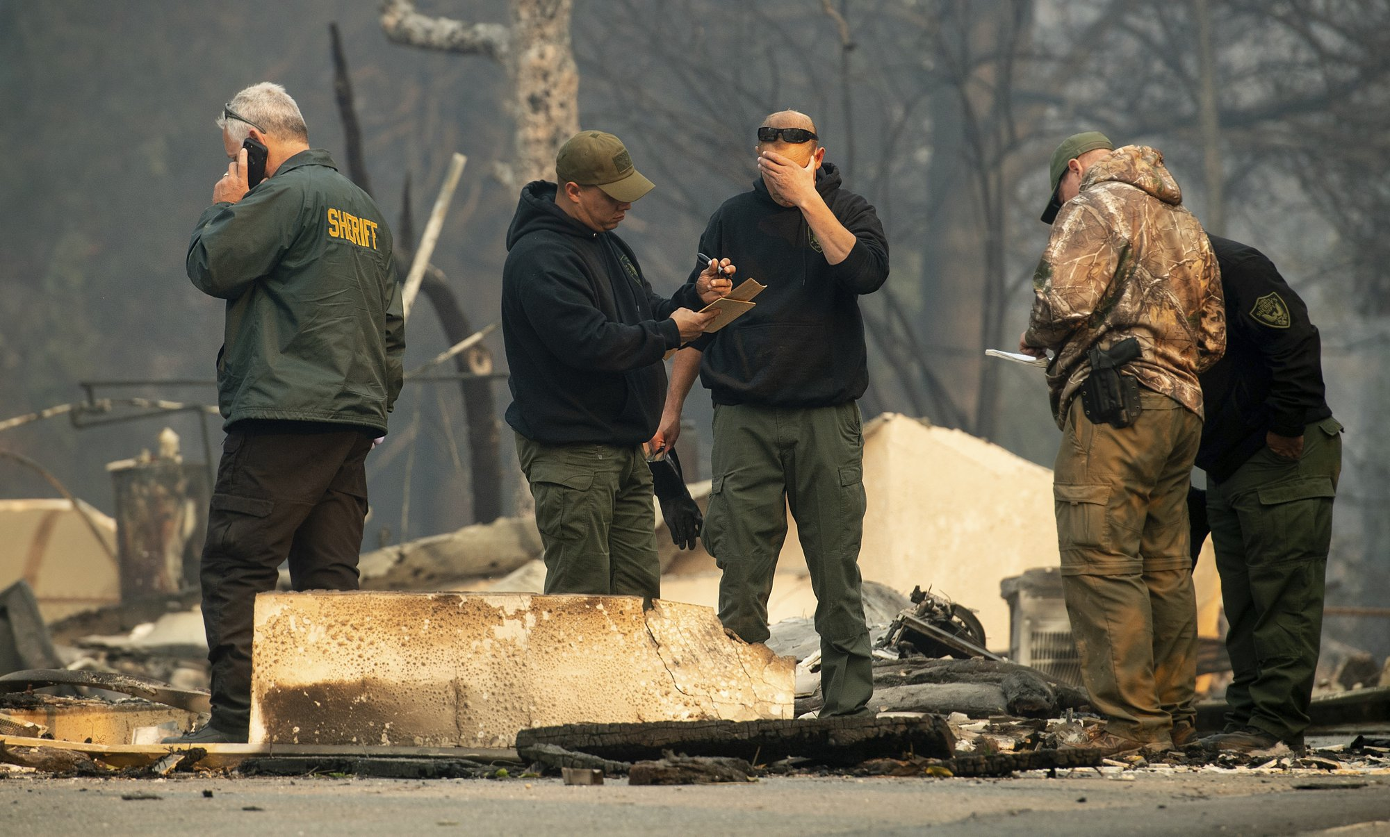 Death toll in California wildfires climbs to 25 | KVOA com