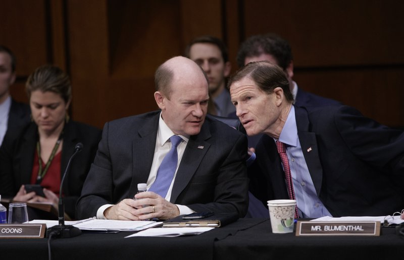 Chris Coons, Richard Blumenthal