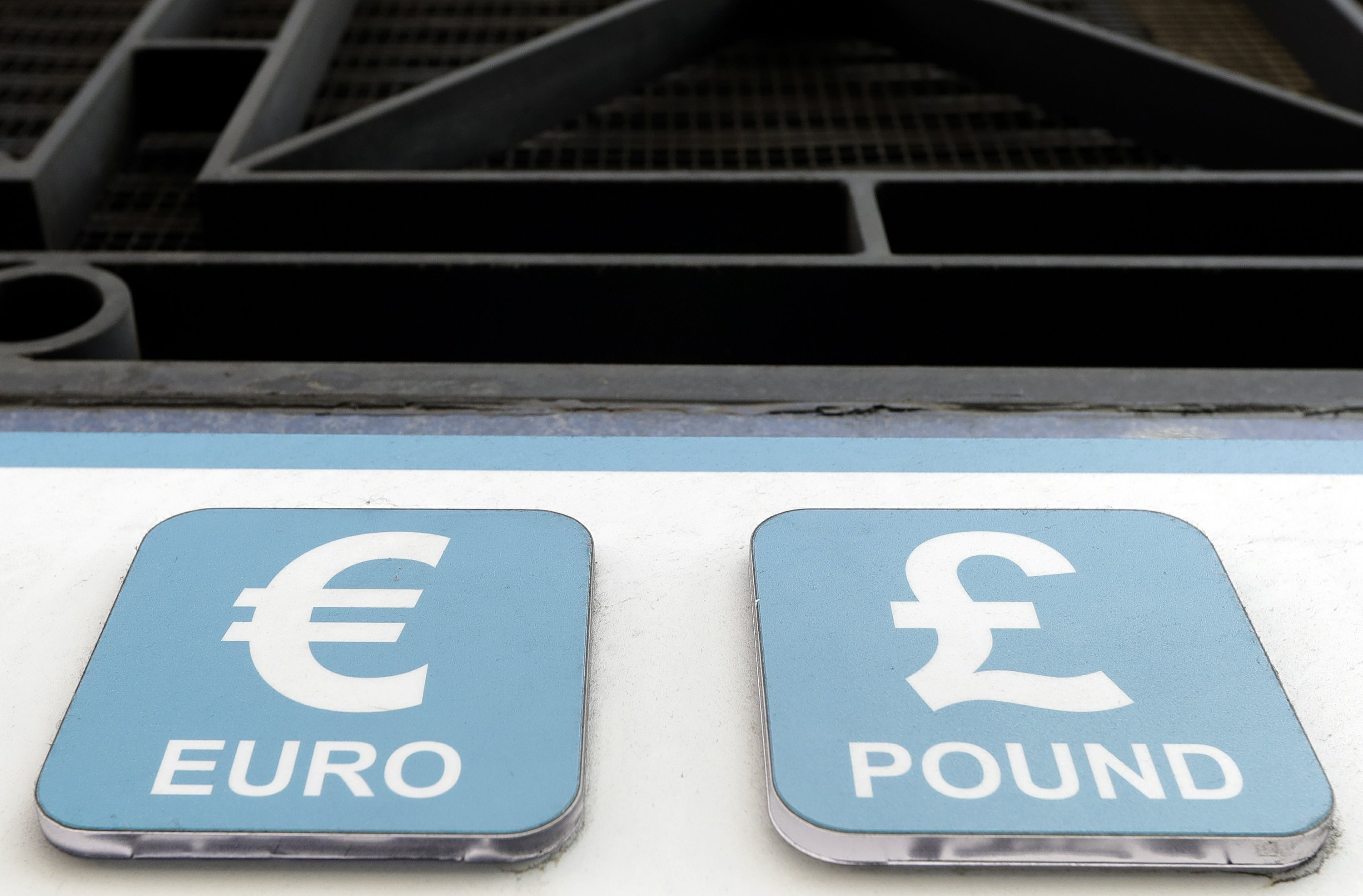 Just Shy Of Record High As Pound Drops