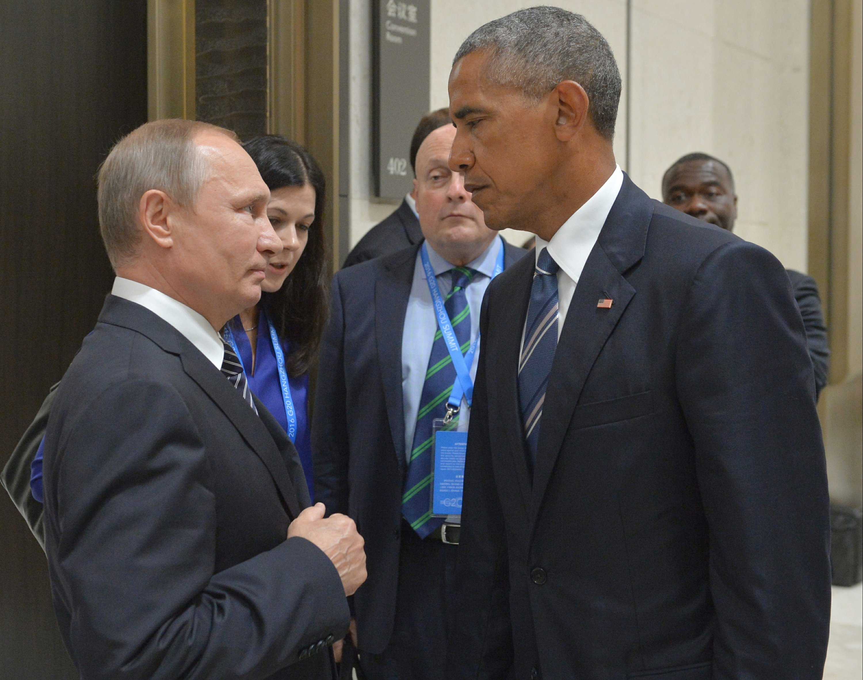 Russia accuses US of conducting 'scorched earth' policy