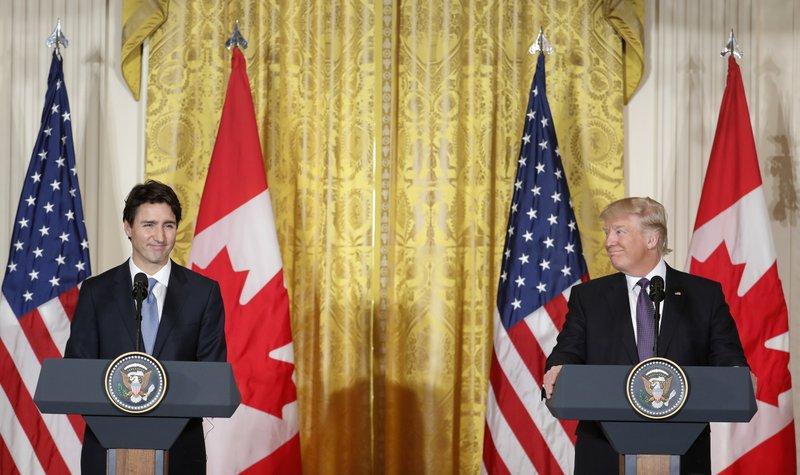 Donald Trump, Justin Trudeau