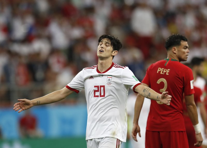 check out ae255 bf1d7 Iran striker retires from team at 23 after online insults