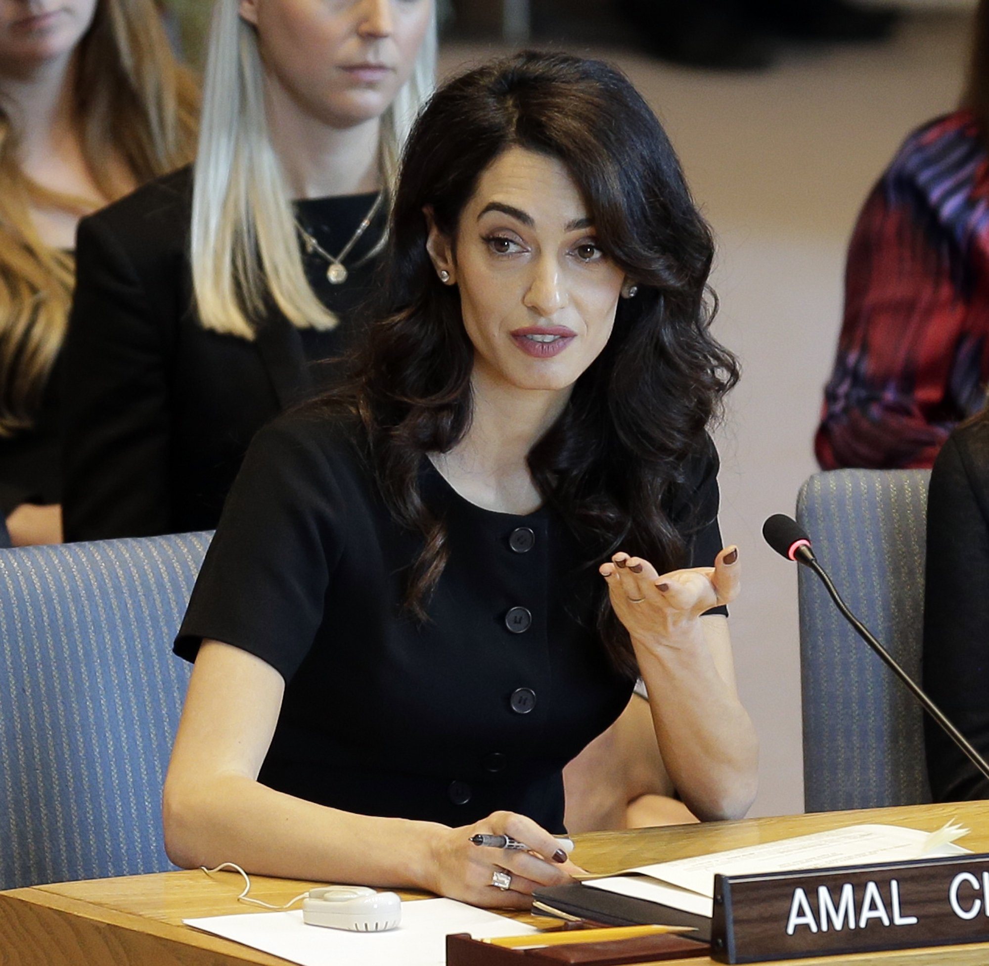 Amal Clooney seeking Islamic State woman for Yazidi crimes