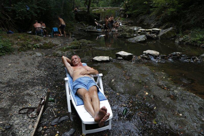 Bosnia hot wave