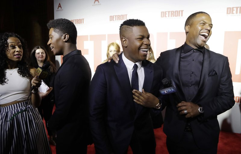 John Boyega, A.J. Calloway, Joseph David Jones