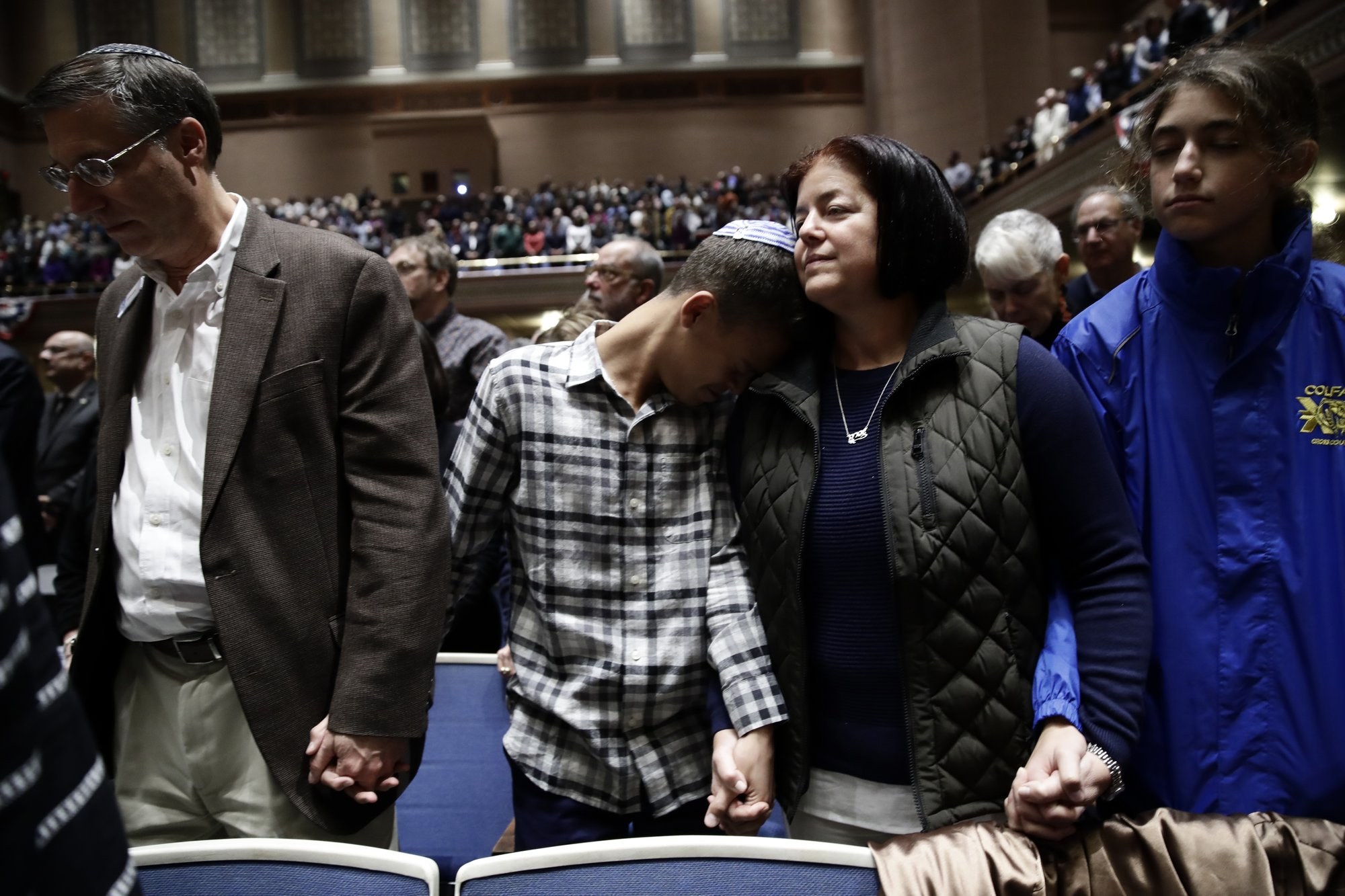 An open door and a massacre: Gunman kills 11 at synagogue