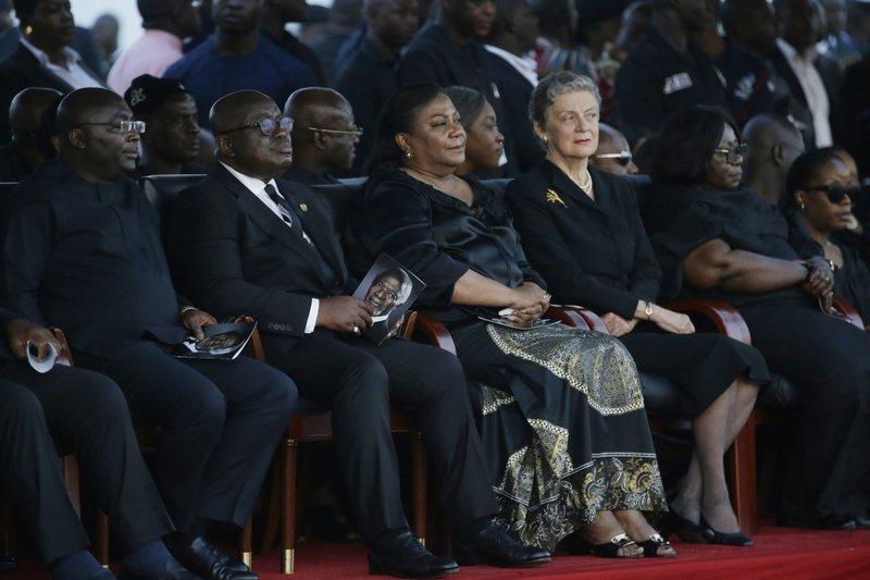 Mahamudu Bawumia, Nane Annan, Nana Addo Dankwa Akufo-Addo, Rebecca Akufo-Addo