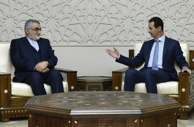 Bashar Assad, Alaeddin Boroujaerdi