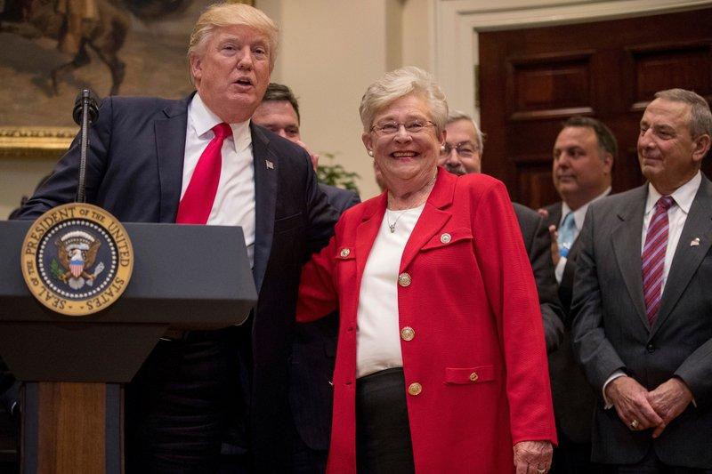 Donald Trump, Kay Ivey