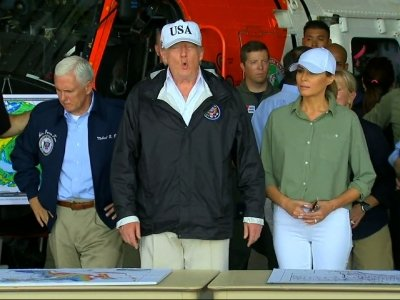 Trump Visits Irma-Ravaged Fla., Touts Progress