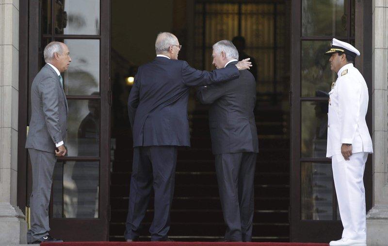 Rex Tillerson, Pedro Pablo Kuczynski