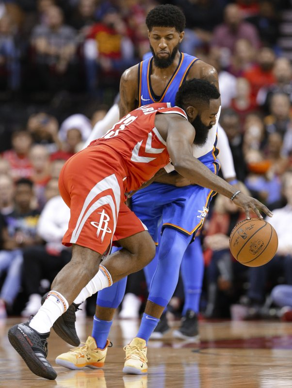 James Harden, Paul George