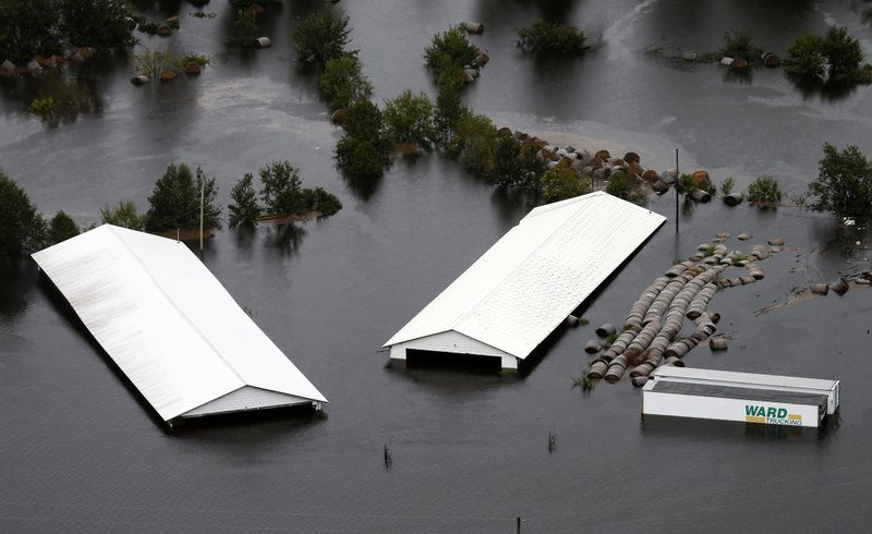 Florence rainfall totals for North Carolina: 8 trillion gallons