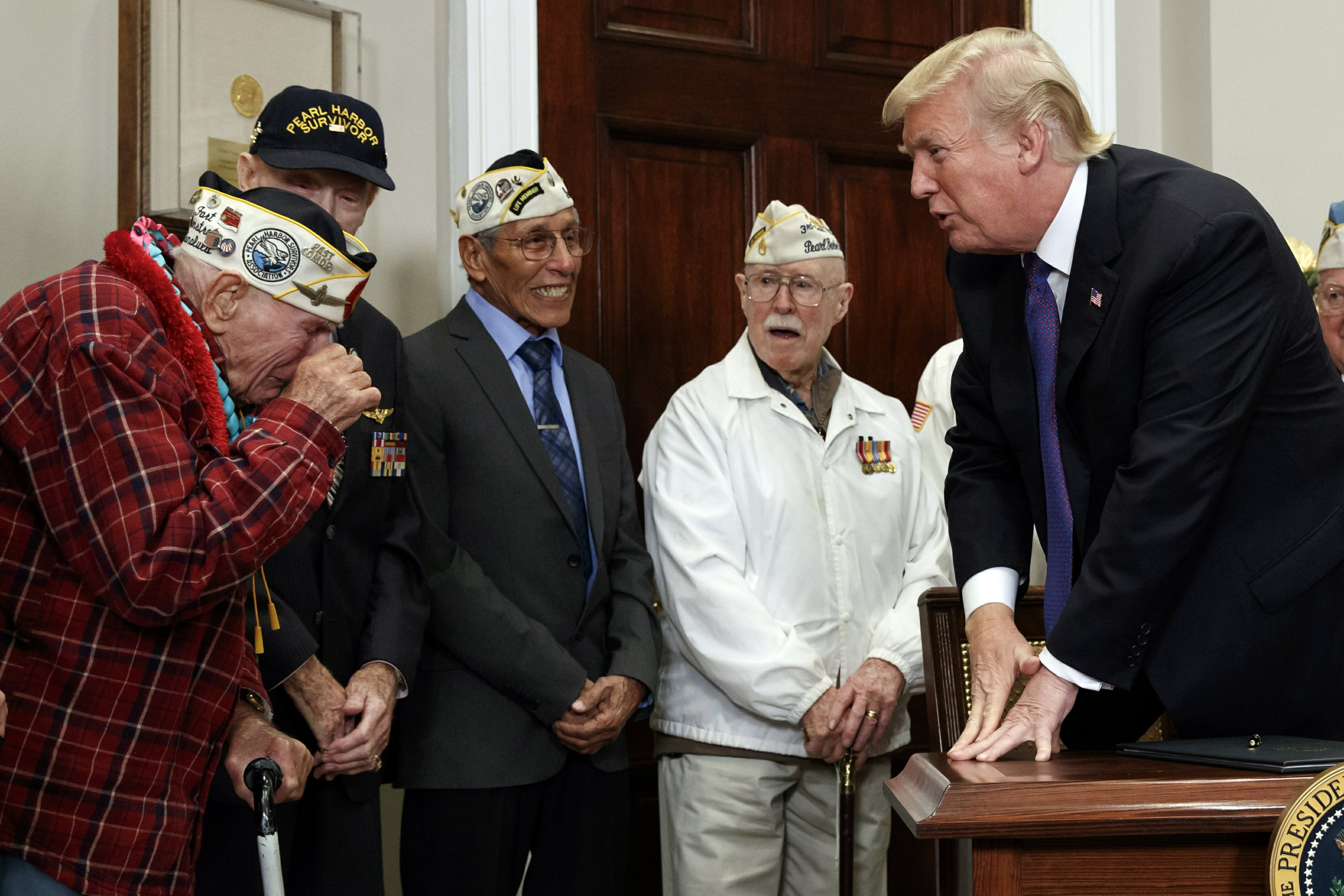 Trump signs proclamation for Pearl Harbor Remembrance Day