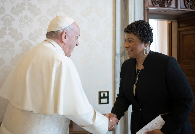 Berenice King, Pope Francis