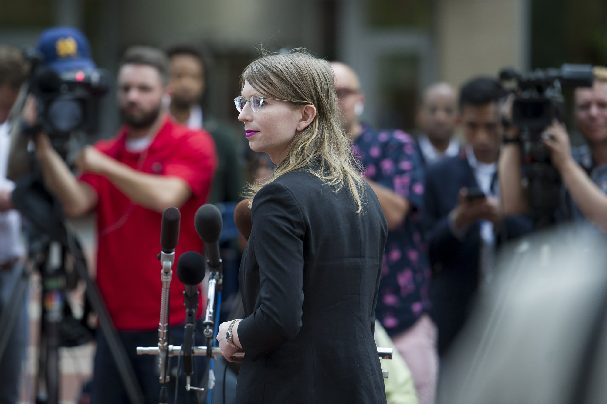 The Latest: Chelsea Manning ordered back to jail