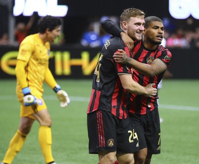 917373e35 ATLANTA (AP) — Gonzalo Martínez scored his first MLS goal and Brad Guzan  had four saves to help Atlanta United beat Orlando City 1-0 on Sunday.