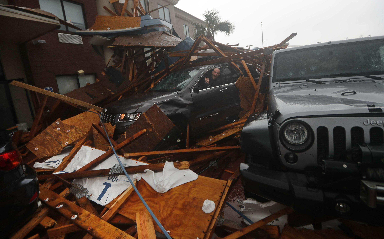 Hurricane Michael left path of destruction, isn't done yet