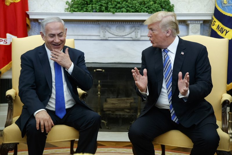 Trump and Netanyahu meet in the White House