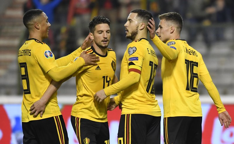 Who Won The World Cup 2020 Soccer.Belgium Croatia Battle To Wins As 2020 Qualifying Begins