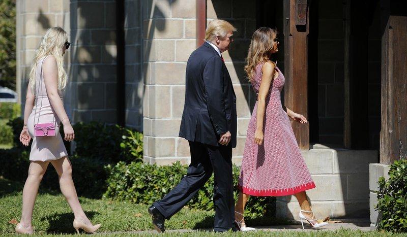 Donald Trump, Melania Trump, Tiffany Trump