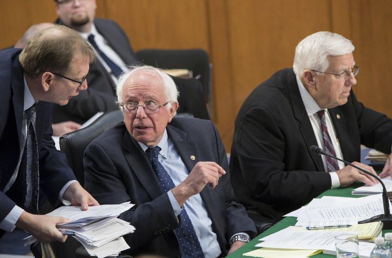 Bernie Sanders, Mike Enzi