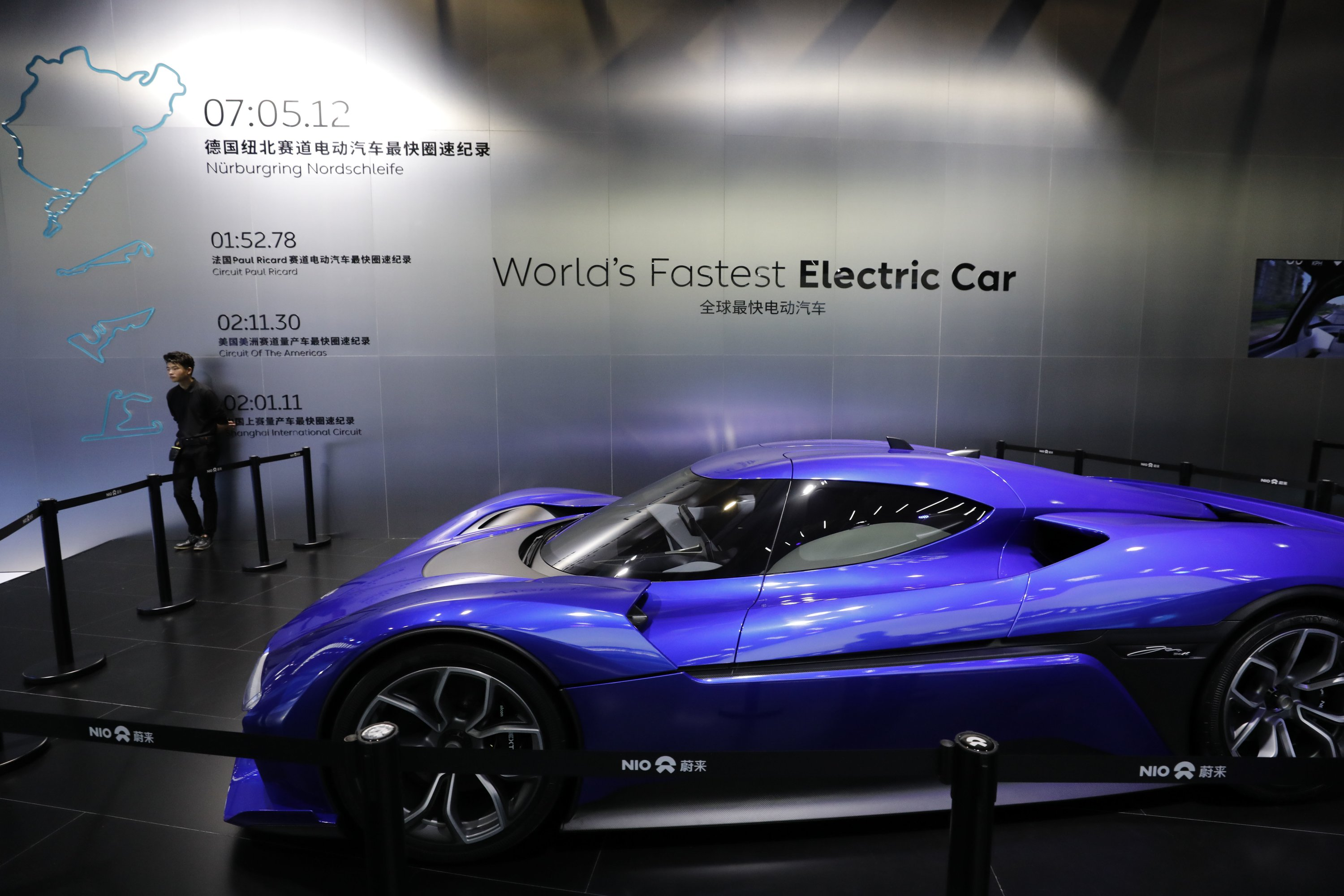 China Propels Rise Of Electric Ultra High Performance Cars