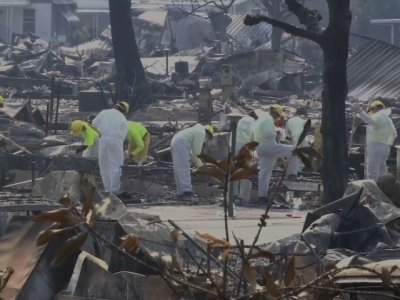 Crews Find Bodies in Rubble from Calif. Blaze
