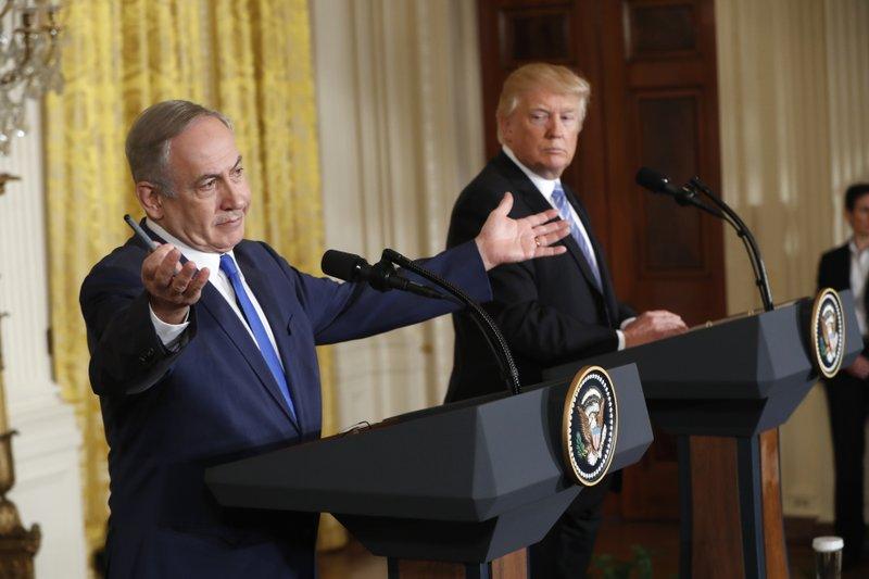 Donald Trump  Benjamin Netanyahu, Donald Trump Benjamin Netanyahu